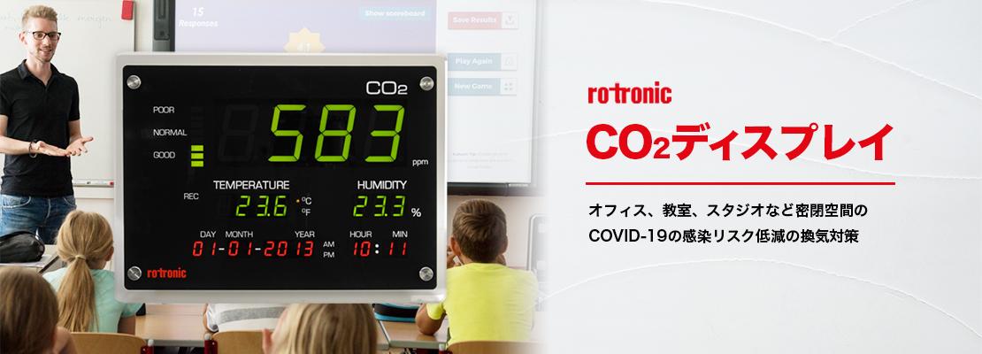 CO2ディスプレイ