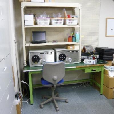 相対湿度校正室