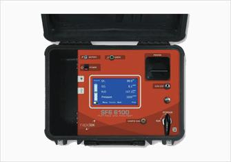 ポータブルSF6ガス分析計Rapidox6100 Portable