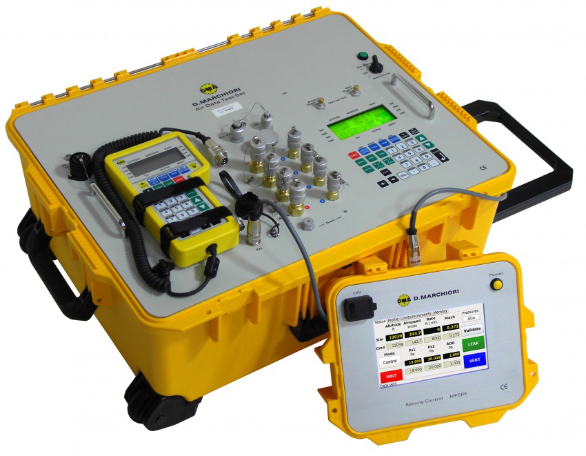 RVSMエアデータテストセット - ピトー静圧試験装置