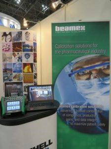 弊社ブースにBeamex社が参加しています