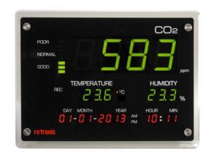 二酸化炭素濃度モニター『CO2ディスプレイ』